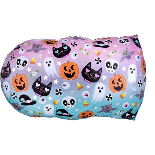Halloween Boo Two-Sided Helium Foil Giant Balloon 81cm / 32 in Gallery Image