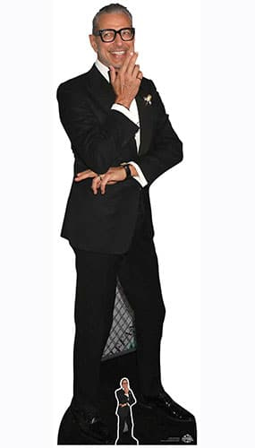Jeff Goldblum Black Suit Lifesize Cardboard Cutout 194cm Product Gallery Image