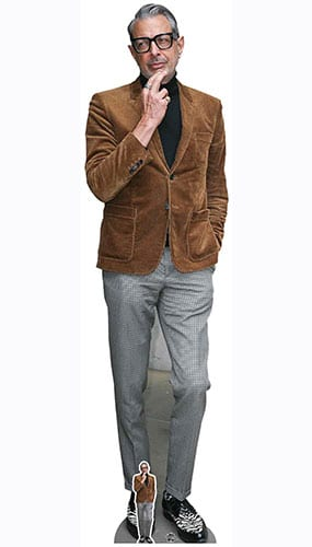 Jeff Goldblum Brown Jacket Lifesize Cardboard Cutout 194cm Product Gallery Image