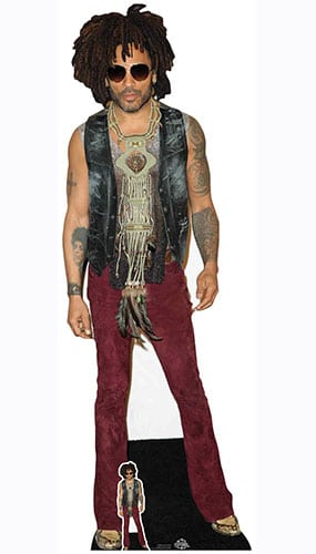 Lenny Kravitz Red Jeans Lifesize Cardboard Cutout 178cm Product Gallery Image