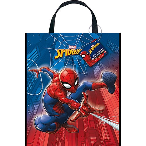 Spider-Man Plastic Tote Bag 33cm x 28cm