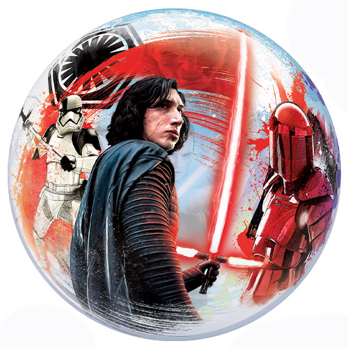 Star Wars The Last Jedi Bubble Helium Qualatex Balloon 56cm / 22 in Product Gallery Image