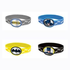 Batman Rubber Bracelets - Pack of 4