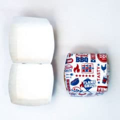BBQ Burger Paper Boxes - Pack of 6