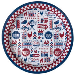 BBQ Paper Plates 23cm - Pack of 6