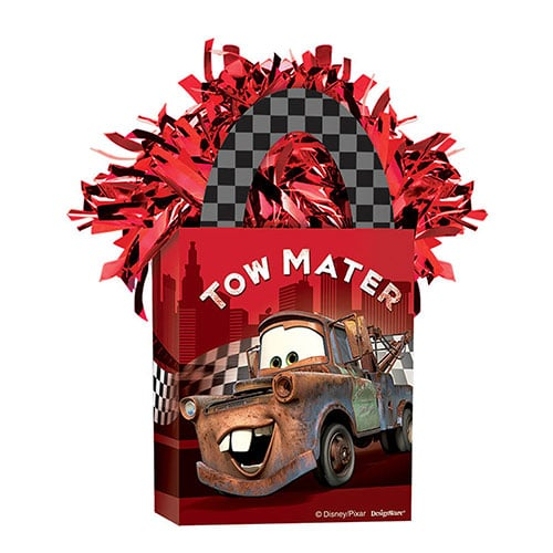 Cars Racer Tote Bag Balloon Weight