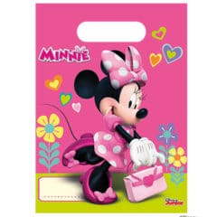 Disney Minnie Mouse Party Loot Bags - Pack of 6