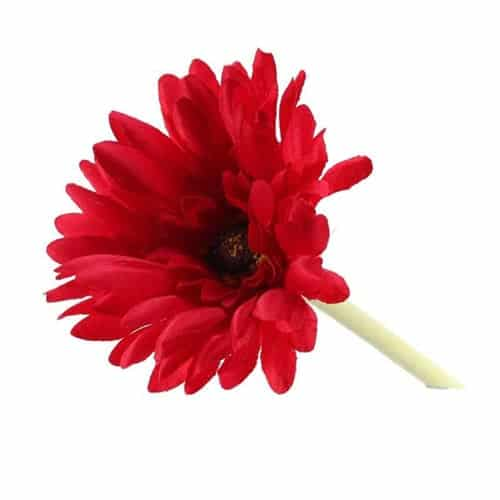 Gerbera Red Artificial Silk Flower 54cm Product Gallery Image