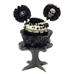 Halloween Fright Night Mini Cupcake Stands - Pack of 4