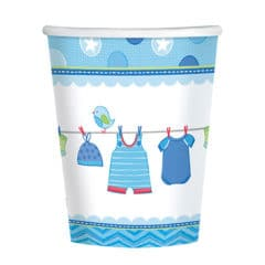 It's a Baby Boy Paper Cups 266ml - Pack of 8