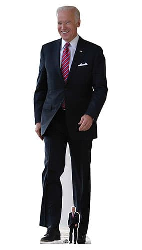 Joe Biden Lifesize Cardboard Cutout 183cm