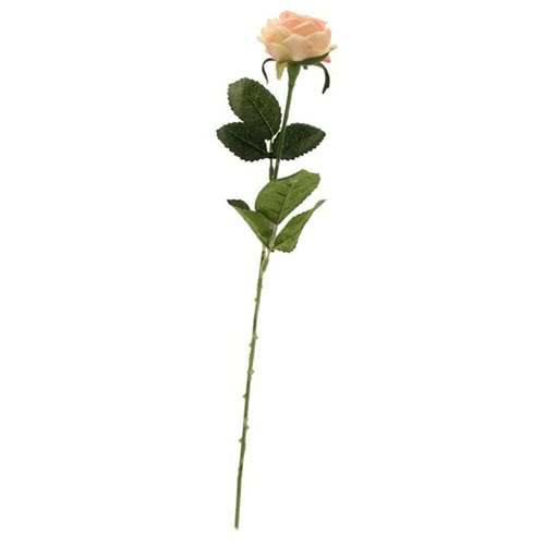 Light Pink Diamond Rose Artificial Silk Flower 40cm Product Gallery Image