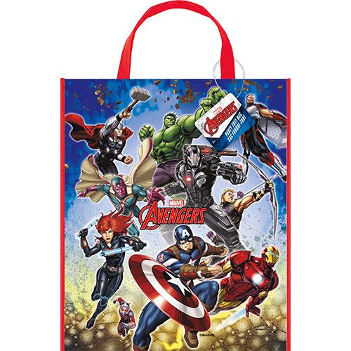 Marvel Avengers Plastic Tote Bag 33cm x 28cm