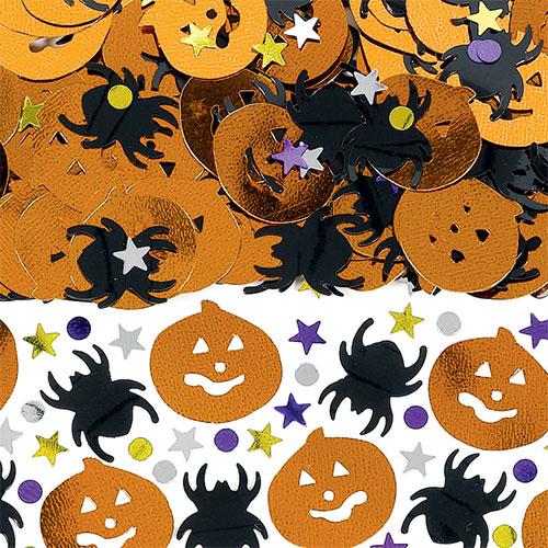 Metallic Halloween Assorted Table Confetti 14 Grams