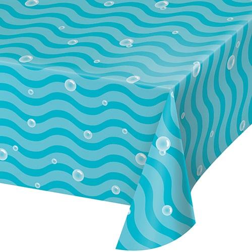 Ocean Celebration Sea Bubbles Paper Tablecover 259cm x 137cm