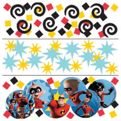 The Incredibles 2 Value Table Confetti 34 Grams - Pack of 3
