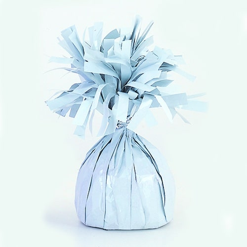 White Foil Balloon Weight