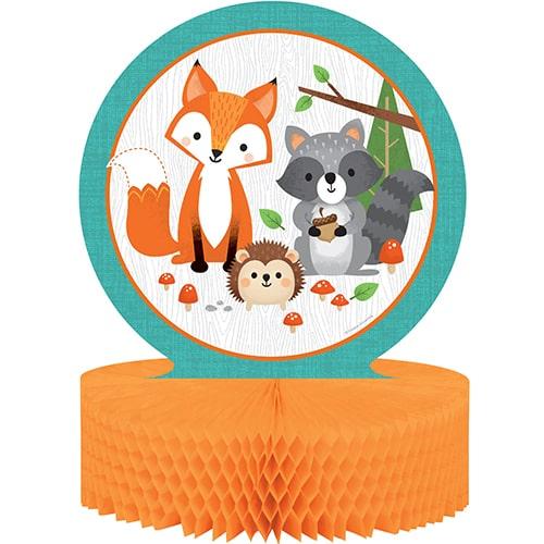 Woodland Animals Honeycomb Centrepiece Table Decoration 30cm