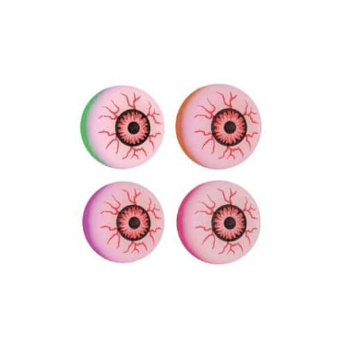 Assorted Halloween Evil Eye Bounce Ball 3cm