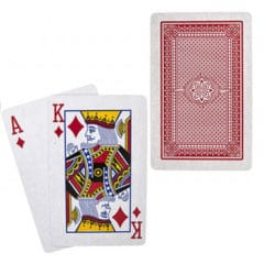 Casino Plastic Coated Playing Cards Deck