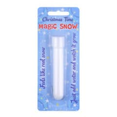 Christmas Magic Snow Tube 10cm