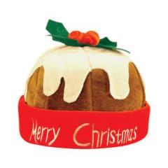 Pudding Hat Adults Christmas Fancy Dress