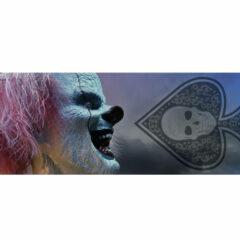 Clown Evil Laughter Halloween PVC Party Sign Decoration 60cm x 25cm