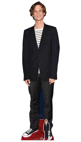 Criminal Minds Matthew Gray Gubler Black Jacket Lifesize Cardboard Cutout 185cm