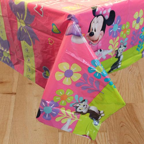 Disney Minnie Mouse Plastic Tablecover 180cm x 120cm