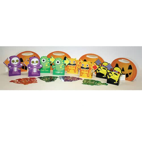 Halloween Boo Crew Monsters Candy Hunt Game