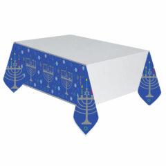 Hanukkah Plastic Tablecover 259cm x 137cm