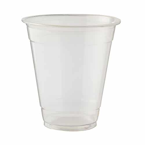 PLA Clear Compostable Cups 340ml / 12 oz - Pack of 50