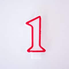 Shaped Candle - Number 1