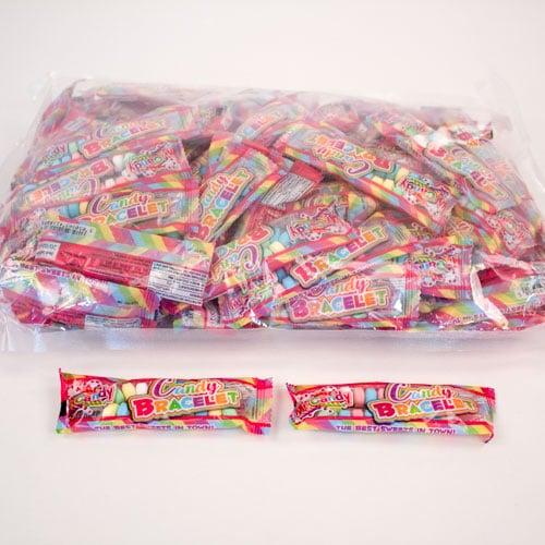 Sherbet Candy Bracelet Sweets 10 Grams - Pack of 100