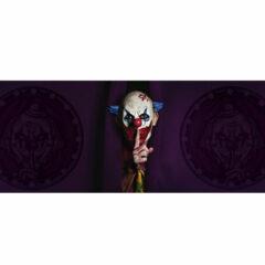 Shhh Clown Halloween PVC Party Sign Decoration 60cm x 25cm