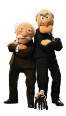 The Muppets Statler and Waldorf Lifesize Cardboard Cutout 149cm