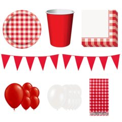 Barbecue Party Theme 16 Person Deluxe Party Pack