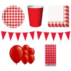 Barbecue Party Theme 8 Person Deluxe Party Pack
