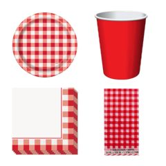 Barbecue Party Theme 8 Person Value Party Pack