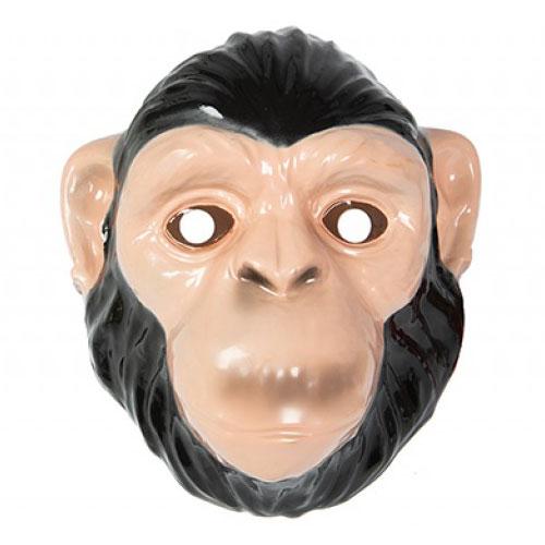 Chimpanzee Plastic Face Mask 23cm