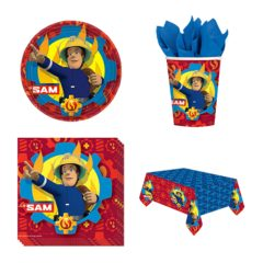 Fireman Sam Theme 8 Person Value Party Pack