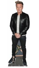 Gordon Ramsay Black Jacket Lifesize Cardboard Cutout 189cm