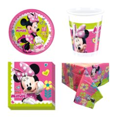 Minnie Mouse Theme 8 Person Value Party Pack