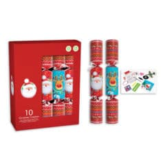 Novelty Characters Christmas Crackers 30cm / 12 in - Pack of 10