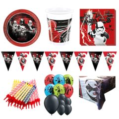 Star Wars Theme 16 Person Deluxe Party Pack