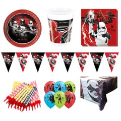 Star Wars Theme 8 Person Deluxe Party Pack