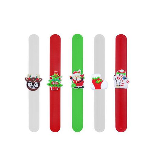 Assorted Christmas Snap Bracelets