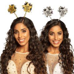 Assorted Happy New Year Sparkling Tiara Headband Fancy Dress