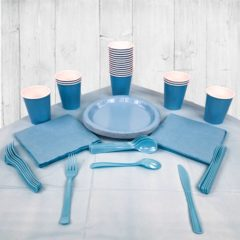 Baby Blue 14 Person Party Pack