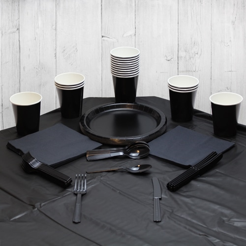 Black 14 Person Party Pack